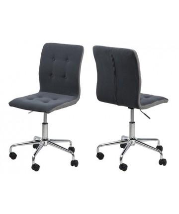 Krzesło biurowe Modena Dark Grey obrotowy fotel z regulacją wysokości