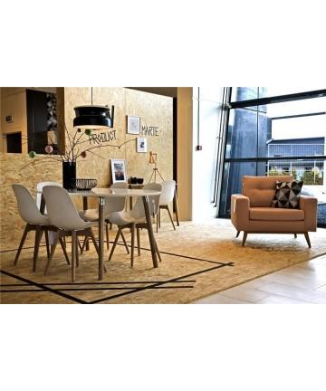 Stół Hit 170 biały nogi drewniane styl skandynawski - Actona