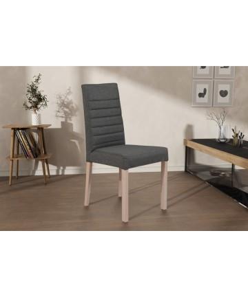 Krzesło Marcus drewniane tapicerowane