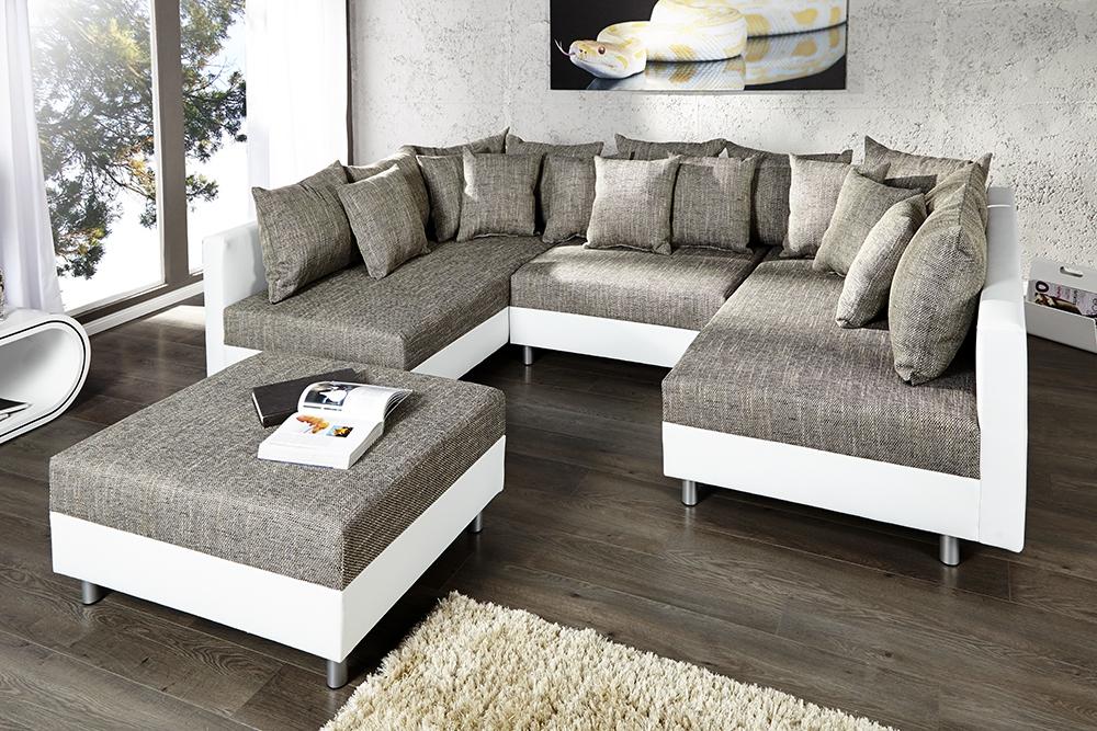 index of zdjecia sklep sofy sofa solid white grey xxl. Black Bedroom Furniture Sets. Home Design Ideas