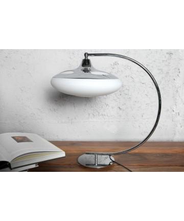 Lampa stołowa Deco biała biurowa