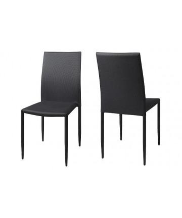 Krzesło Delecta Grafitowe krzesło do salonu