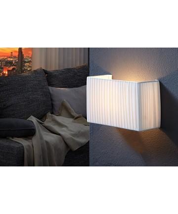 Lampa Ścienna Short biały kinkiet 30