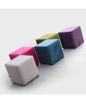 Pufa Classic 1 osobowa Fluff mix kolorów ławka stołek puf