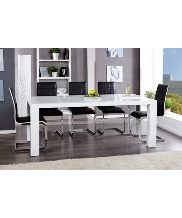 Stół Big biały lakierowany na wysoki połysk długość 200 cm