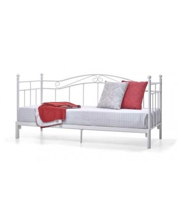 Łóżko Princess białe rozkładane