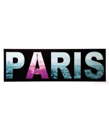 Obraz Picture Glass Capitals 45x140cm Assort szklany obraz jednoczłonowy Paryż