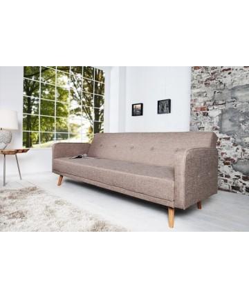 Sofa rozkładana Plexi beżowa 210