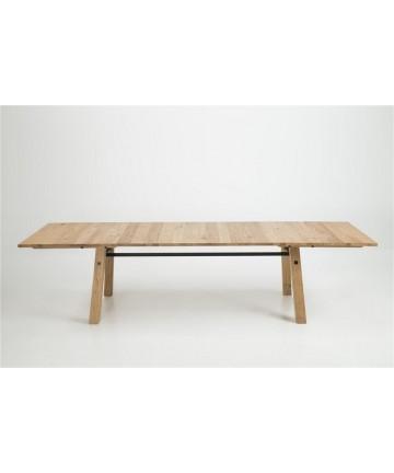 Stół Rozkładany Gino 210-300 dębowy masywny skandynawski