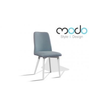 Krzesło Bodo Styl skandynawski drewniane nogi tkanina