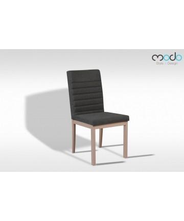 Krzesło Fido drewniane tapicerowane do salonu jadalni