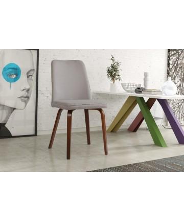 Krzesło Bodo tapicerowane dowolna tkanina do jadalni