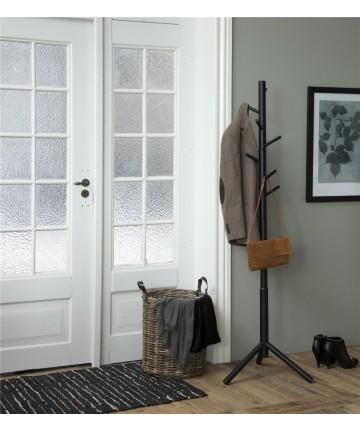 Wieszak Catch Czarny drewniany stojak garderoba na ubrania
