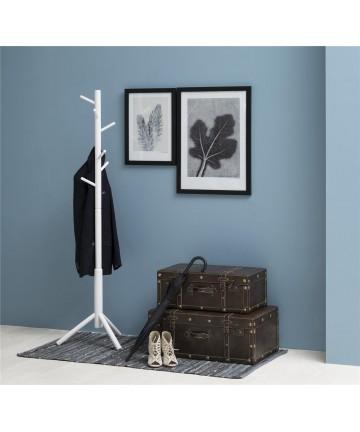 Wieszak Catch Biały drewniany stojak garderoba na ubrania