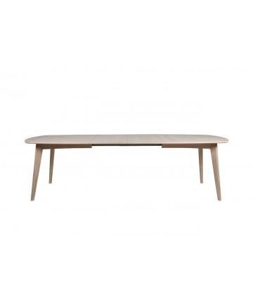 Stół rozkładany Marilyn Dąb Bielony 180- 270 lite drewno