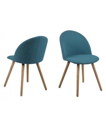 Krzesło Maki Niebieskie