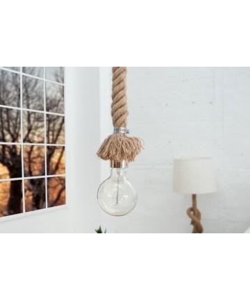 Lampa wisząca Amira z tkanej liny