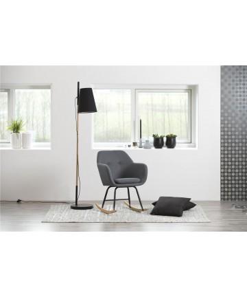 Krzesło Roxi bujane Szare fotel