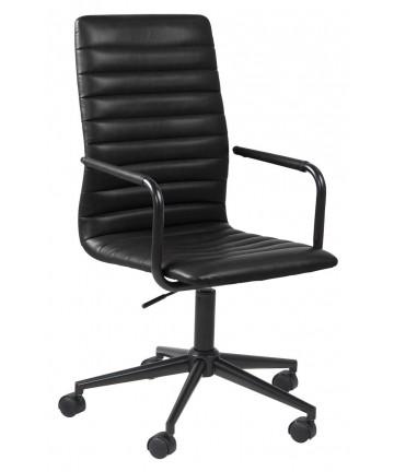 Fotel Biurowy Toledo Czarny obrotowy z regulacją wysokości