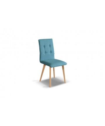 Krzesło Pic Slim Buk tapicerowane dowolna tkanina