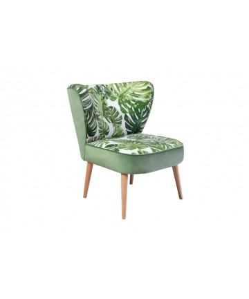 Fotel Drom Jungle klubowe fotele liście dżungla