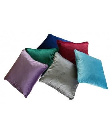 Poduszka z lamówką 40x40 poduszki pluszowe Jaśki antyalergiczne