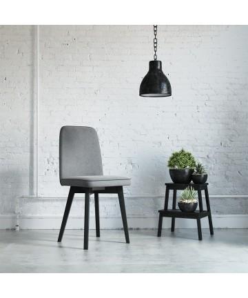 Krzesło Bodo dowolna tkanina tapicerowane do jadalni