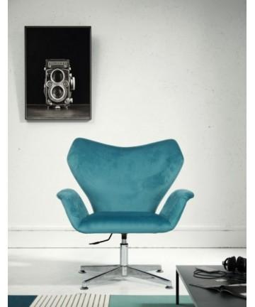 Fotel OLAF tapicerowany obrotowy Velvet