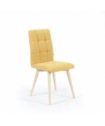 Krzesło Comfort Slim skandynawskie pikowane tapicerowane dowolny kolor