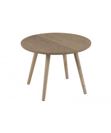 Stolik Natur 50 okrągła ława drewniana
