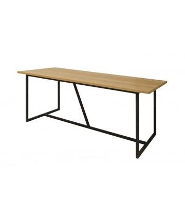 Stół Loft dębowy 200