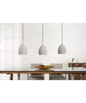 Lampa wisząca Trio Helix betonowa