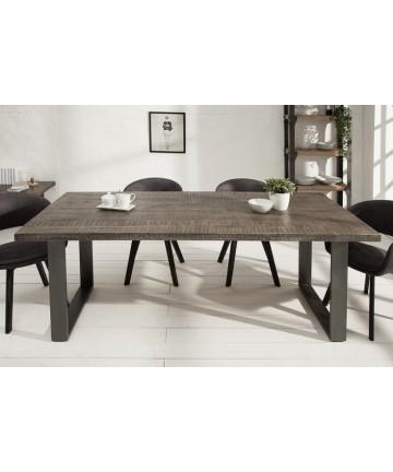 Stół Multi Mango Szary 180 lite drewno masywne stoły