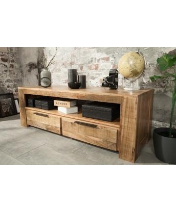 Szafka RTV Multi Mango 130 drewniana masywne stoliki pod telewizor