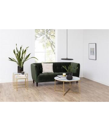 Sofa Joda 2,5 osobowa Zielona Butelka Velvet
