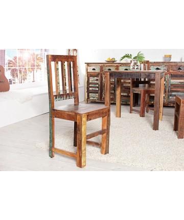 Krzesło Jack drewniane BOHO