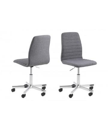 Krzesło obrotowe Junge szare