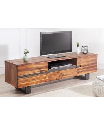 Szafka RTV Wood drewniana 160