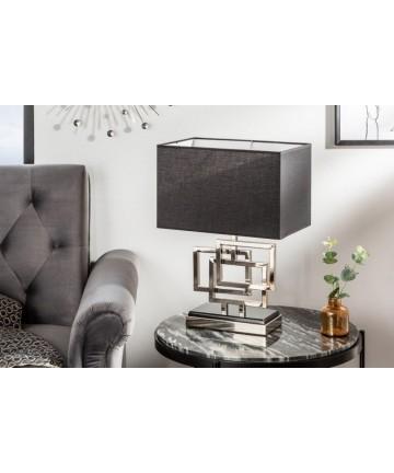 Lampa stołowa Susan srebrna