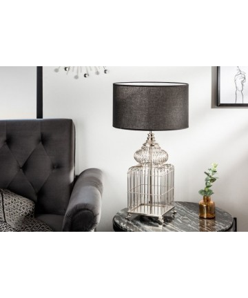 Lampa stołowa Safe srebrna
