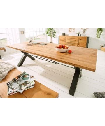 Stół dębowy Amazon 200 noga X