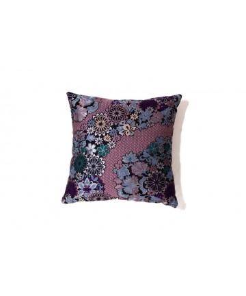 Poduszka dekoracyjna w kwiaty 40x40