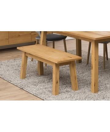 Ławka Kiara Dąb 110 drewniane do stołu