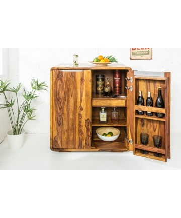 Drewniany barek na alkohol Brick