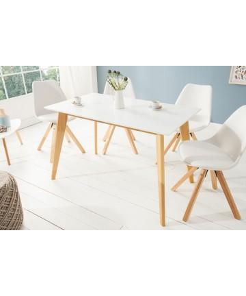 Stół biały w stylu skandynawskim 120