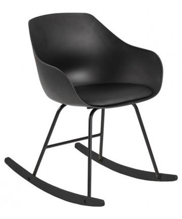 Krzesło bujane Tea czarne