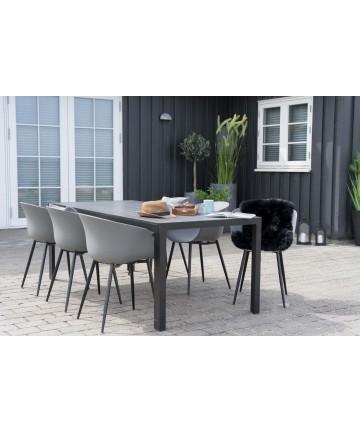 Stół ogrodowy Balance 205 szary