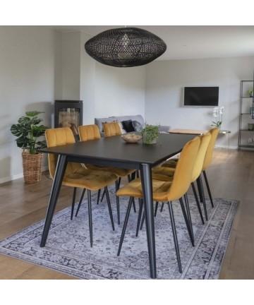 Stół rozkładany Oslo 195 – 285 czarny