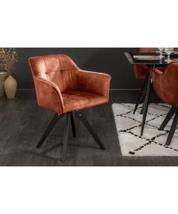 Eleganckie obrotowe krzesło