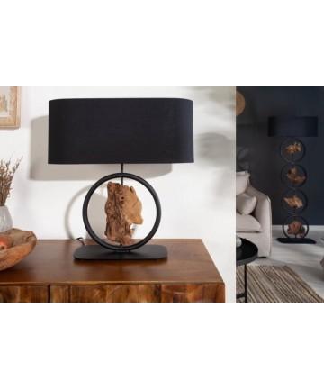 Stylowa lampa stołowa do salonu